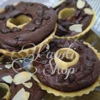 Brownies Doughnut Pie - Almond