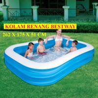 Kolam renang bestway 54006 / Kolam renang bestway besar 262 cm
