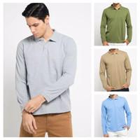 Polo Shirt Lengan Panjang Pria / Long Sleeve Polo Shirts