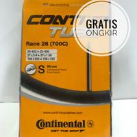 Ban Dalam Conti Continental Tube Race 700x20 s/d 700x25 Presta 80mm