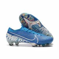 Sepatu Bola Nike Mercurial Vapor XII Elite Cyan Blue FG Premium