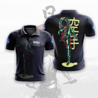 Baju Kaos Tshirt Polo Wangki Astronot Luar Angkasa Nasa 02 Custom