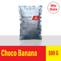 (500 g) Choco Banana Premix Milkshake / Bubble Powder Drink