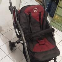 Preloved - Stroller Baby Elle Avio RS - Merah