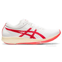 Sepatu Running Pria Asics Metaracer WHITE/SUNRISE RED Running Shoes