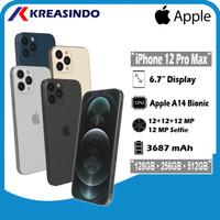 Apple iPhone 12 Pro Max 128 256 512 / 128GB 256GB 512GB Resmi TAM IBOX