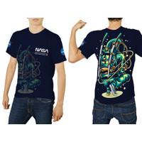 Baju Kaos Tshirt Pria Astronot Luar Angkasa Nasa 01 Custom