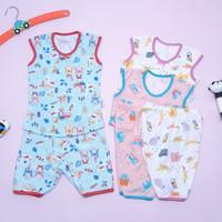 Baju Anak Bayi Setelan Kutung Little Q Pakaian Baby SNI Lembut Nyaman