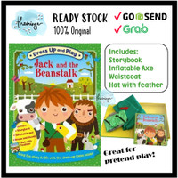 Jack and the Beanstalk Dress up Play Story Book and Costume