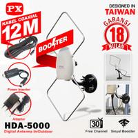 antena tv digital analog indoor outdoor PX HDA -5000 antena luar dalam