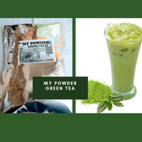 Bubuk Green Tea -Powder Bubuk Matcha Green Tea 1 KG
