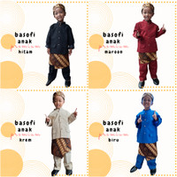 Basofi Anak Premium Ukuran PAUD-TK Baju Adat Sunda