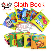 Cloth Book Fabric Buku Kain Edukasi Anak Bayi