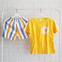 Baju tidur kaos oblong premium celana pendek    bahan adem