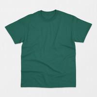 Blank T-shirt Dark Tosca (Kaos Polos Hijau Tosca Tua)