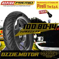 ASPIRA PREMIO SPORTIVO 100 80 - 14 BAN MOTOR MATIK MIO BEAT TUBELESS