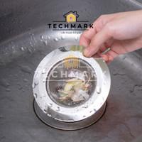 AD100 Saringan Jala 11cm Bak Cuci Piring Stainles Sink Filter Strainer