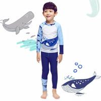 Baju Renang Anak Laki Lengan Panjang dan Celana Panjang Shark