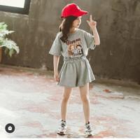 Setelan anak perempuan korea/style anak/baju anak
