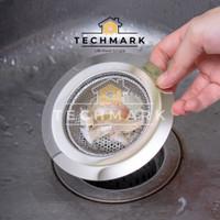 AD103 Saringan Air 11cm Bak Cuci Piring Stainless Sink Filter Strainer