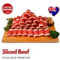 Daging Sapi Iris / Slice Beef AUS - 500 GR - Shabu / Grill / Barbeque