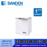 Sanden Intercool Freezer Box SNH-0155 1 Pintu Kapasitas 150 Liter