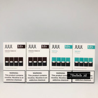 Juul Pods | Juul Pod | Juul Cartridge | Authentic sudah berpita cukai - menthol 5%