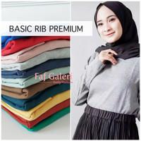 Baju Kaos RIB Premium Tangan Panjang Pria Wanita Harga Grosir