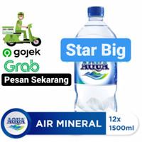 Air Mineral AQUA 1500ML 1 DUS ISI 12 BOTOL