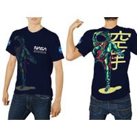 Baju Kaos Tshirt Pria Astronot Luar Angkasa Nasa 02 Custom
