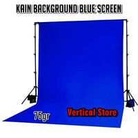 Kain Background Blue Screen / Backdrop Chroma Key / Spunbond 75gr