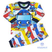 Baju Tidur Anak/Piyama Anak Tayo 1-8 Tahun
