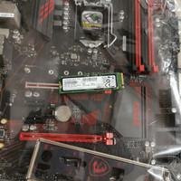 Msi Z370 Gaming Plus vs Samsung SSD 512GB Nvme