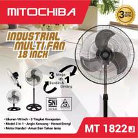 Mitochiba Fan 3in1 1822 J Kipas Angin Besi Garansi 3 Tahun