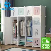 Lemari Plastik Pakaian DIY / Wardrobe / Rak Baju Animal Character