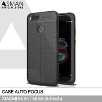 Auto Focus Xiaomi Mi 5X / Mi A1 (5.5) | Softcase Premium - Hitam