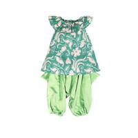 Lil' Notre Setelan Baju Anak/Siena Hiro/Hijau