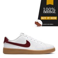 Sneakers Original Sepatu Nike Court Royale 2 Low - White/Team Red/Gum