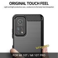 case mi 10T mi 10T pro anti banting soft case armor carbon rugged