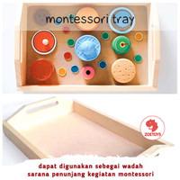 Zoetoys Montessori Tray | mainan edukasi | mainan anak | edutoys