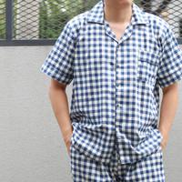 Piyama pria katun jepang bagus / baju tidur pria / piyama cowok - Navy, all size