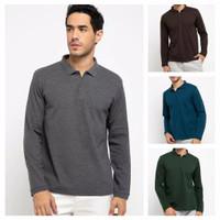 Polo Shirt Lengan Panjang Pria / Wanita Long Sleeve Polo Shirts