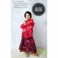 Baju Adat Madura Putri Kebaya Madura Anak TK dan SD