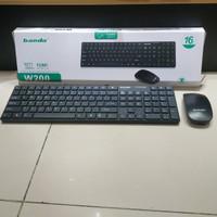 Wireless Keyboard Mouse Set Banda W200