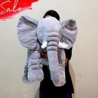 Boneka gajah gendut big 70CM elephant safari bantal mobil kantor ikea