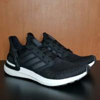 Sepatu Adidas Ultraboost 20 Original BNIB running ultra boost - black