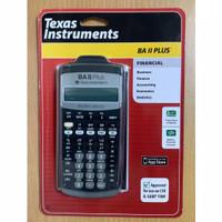Calculator Bisnis Texas BAII PLUS BA II finance kalkulator keuangan TI