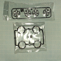Tamiya Ban Super Hard lettering Exflowly & velg Spoke ( Copotan Kit )