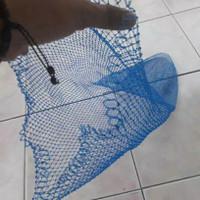 Jaring seser ikan bahan nylon tempat ikan bisa request ukuran