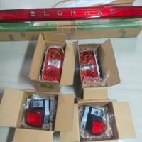 stoplamp reflektor lampu belakang Nissan Elgrand e51